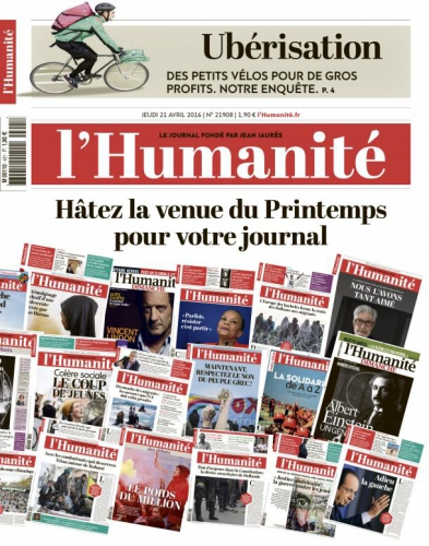 l'humanité,journal,disparition